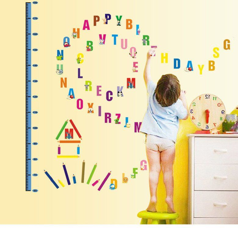 Alphabet Wall Stickers For Kids - [hdwallpaperblog.com]