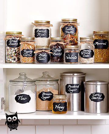 Liquid Chalk Markers Or Chalkboard Labels Kitchenorganization In