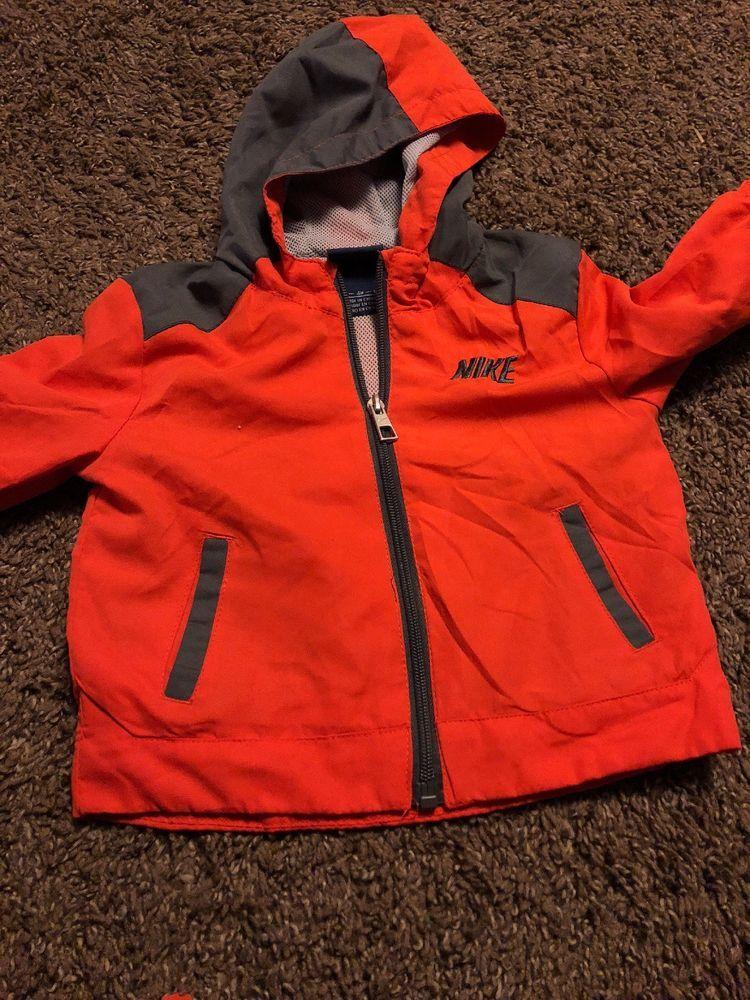 570fc5a65fae NIKE Boys 18 Months Zip Up Coat Jacket Red Gray Light Weight EUC  fashion   clothing  shoes  accessories  babytoddlerclothing  boysclothingnewborn5t  (ebay ...