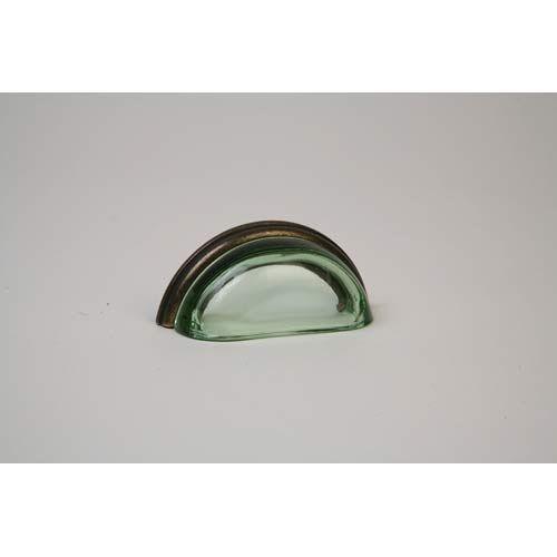 Lew S Hardware Oil Rubbed Bronze 3 75 Inch Transpa Green Pull