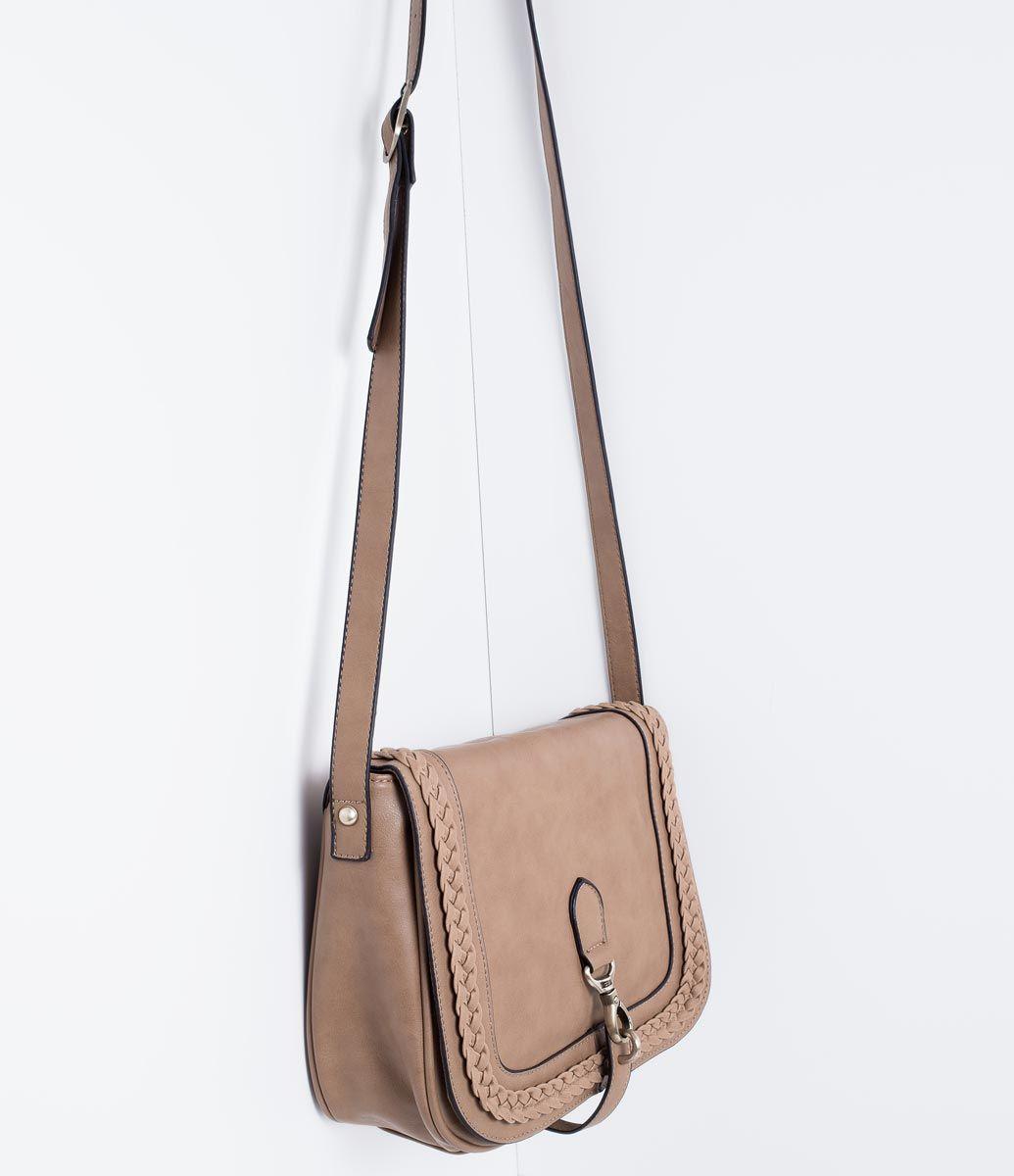 Bolsa Feminina A Tira Colo : Bolsa feminina transversal com lapela lojas renner