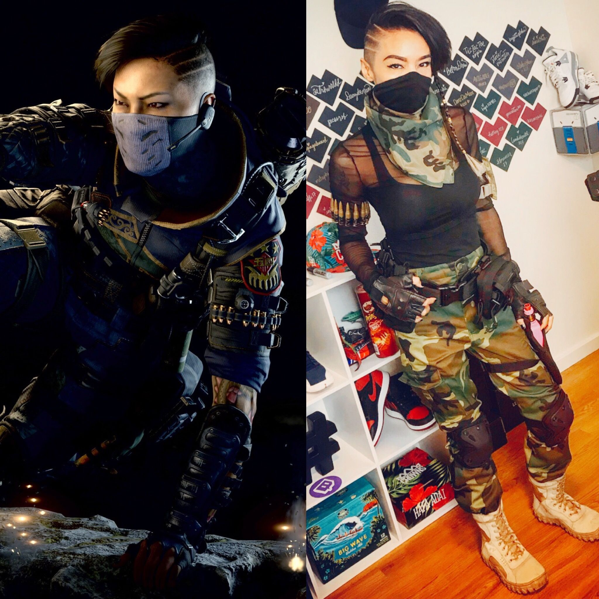 Call Of Duty Blackops4 Seraph Army Cosplay Call Of Duty