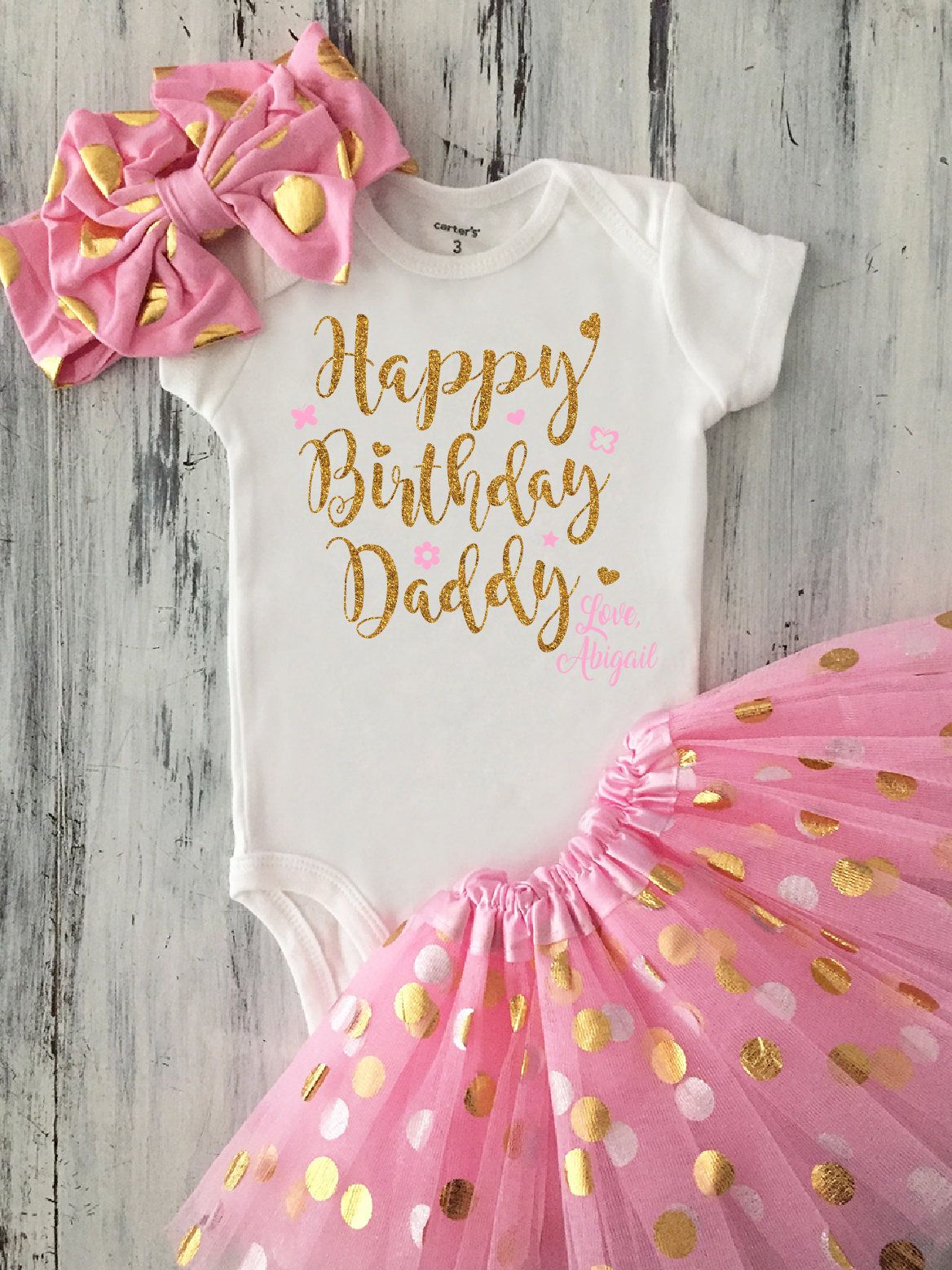 Happy Birthday Daddy Gifts Baby For Dad Father