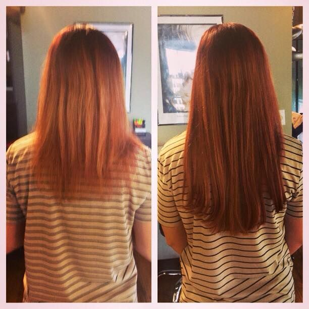 Express Tape Extensions By Bliss Hair Studio Senior Stylist Brielle