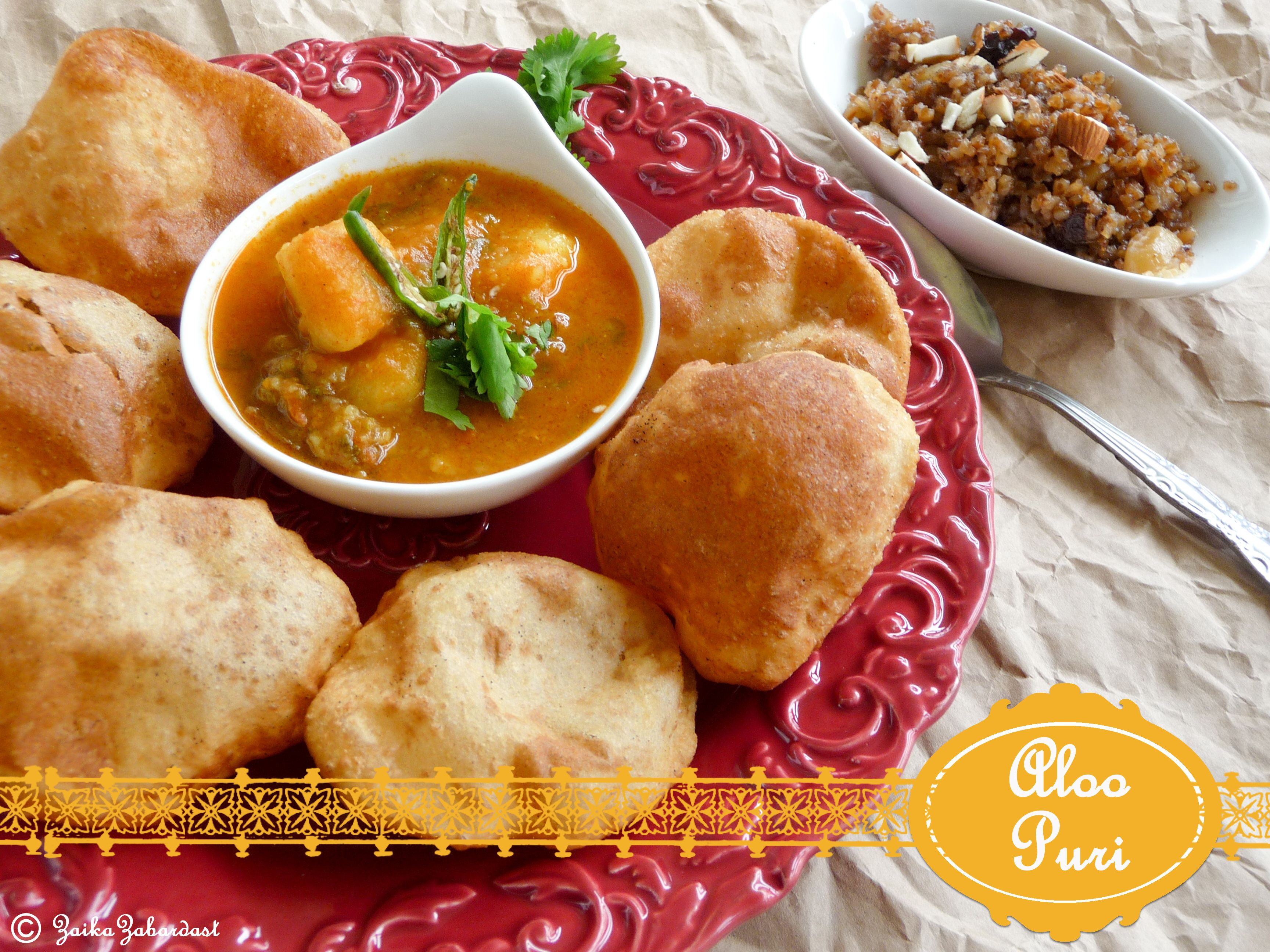 Poori aloo eating and drinking pinterest potato curry poori aloo indian food forumfinder Choice Image