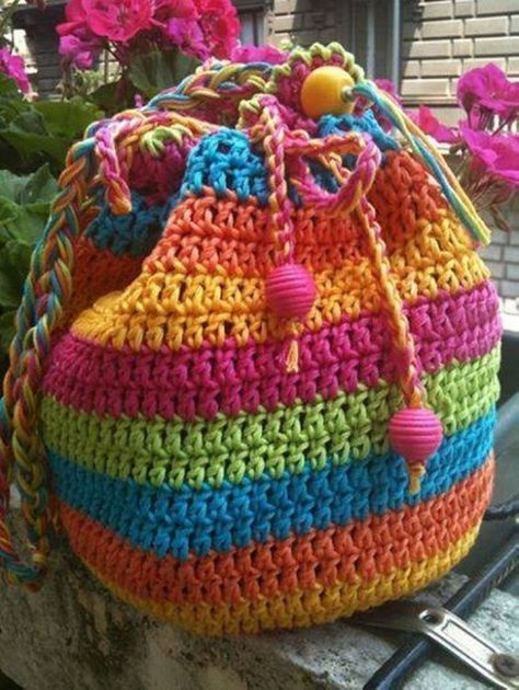 Crochet Tote Bag Best Free Patterns | canta | Pinterest | Häkeln und ...