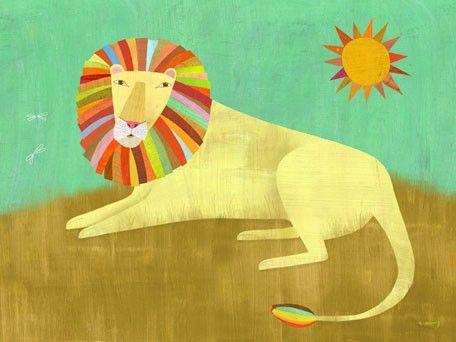 Lounging Lion\
