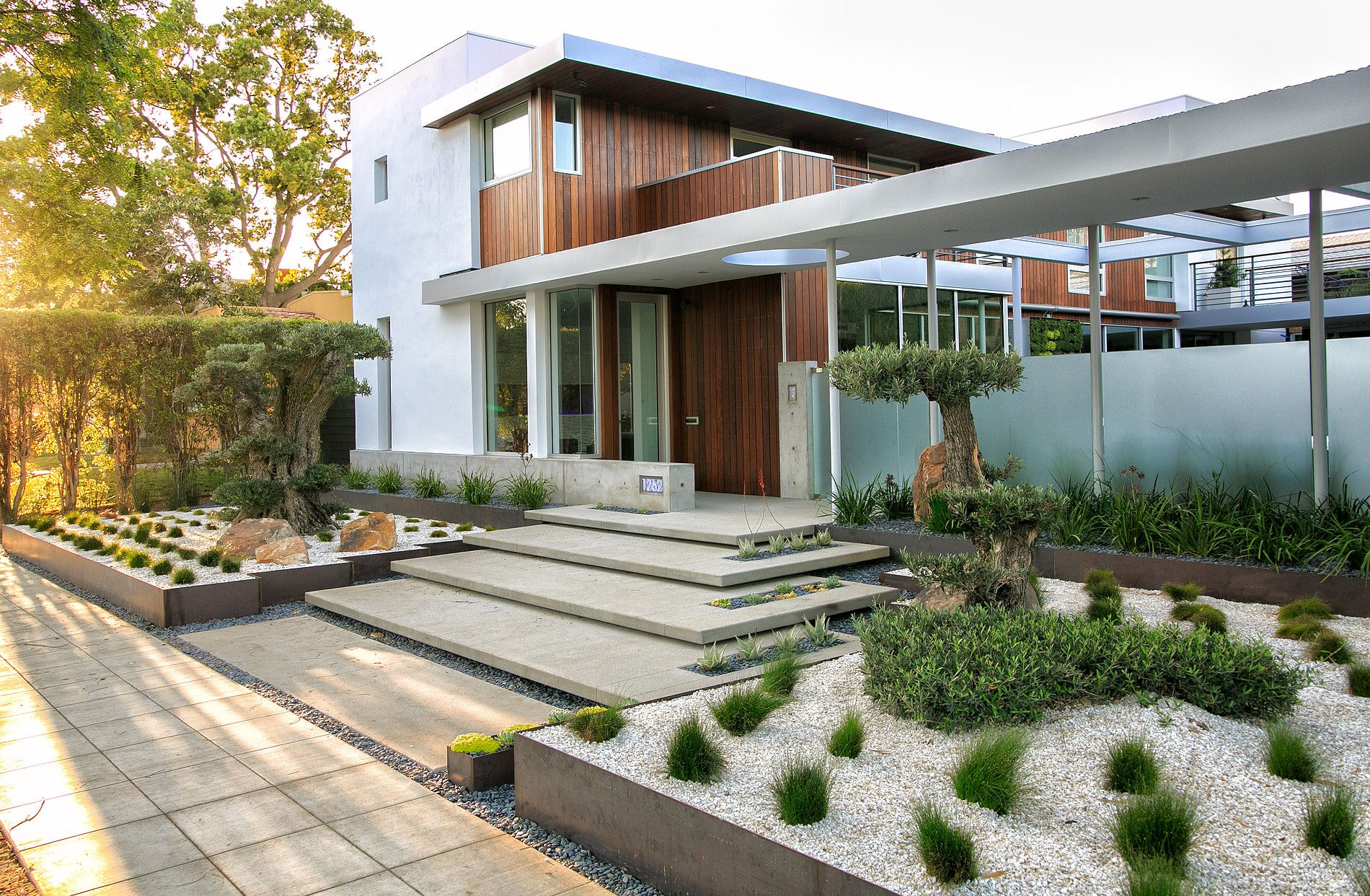 Modern Residential Landscape Architecture Modern Landscape Lighting Modern Landscape Design Modern Landscaping