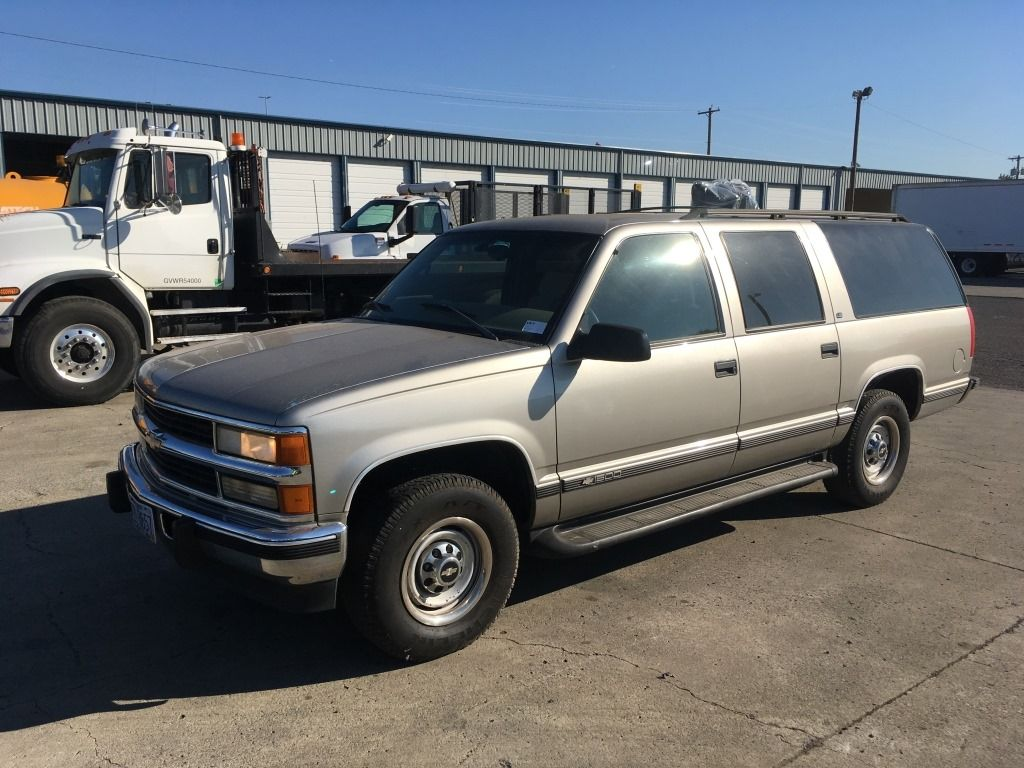 1999 Chevrolet Suburban Ls Suv At Auction In Portland Or More