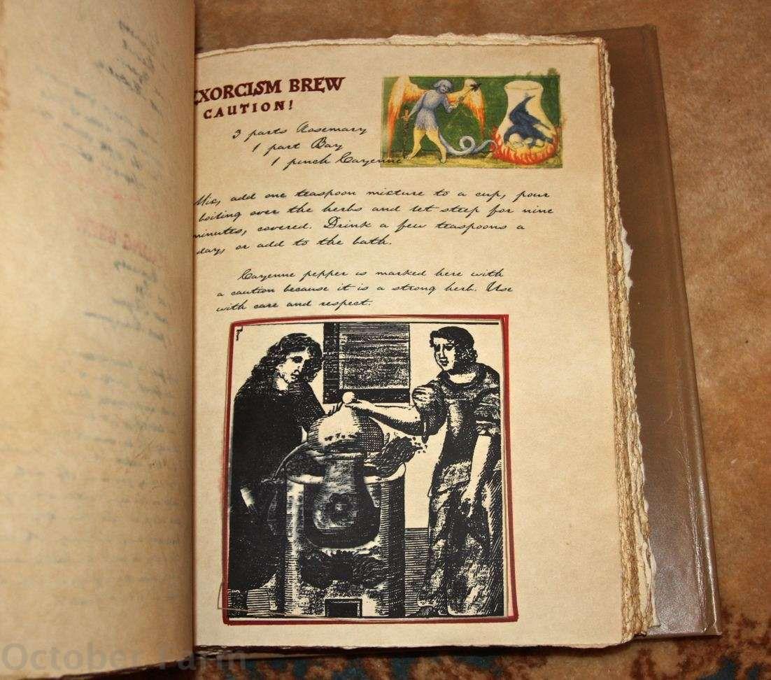 Octoberfarm: The Original Practical Magic Spellbook | BOS | Pinterest