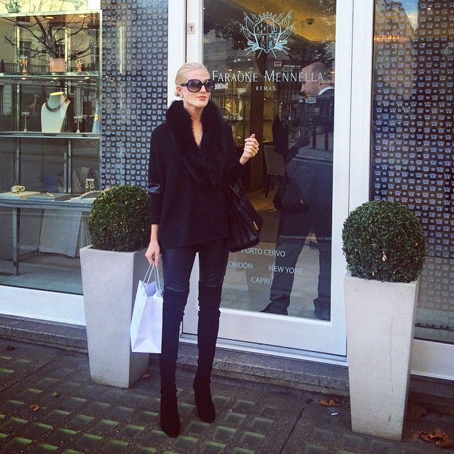Over knee boots, Thigh boots - Fall 2014 most stylish shoe to be seen in! See Jet set Babes wearing it and you'll understand why: http://jetsetbabe.com/over-knee-boots-mania