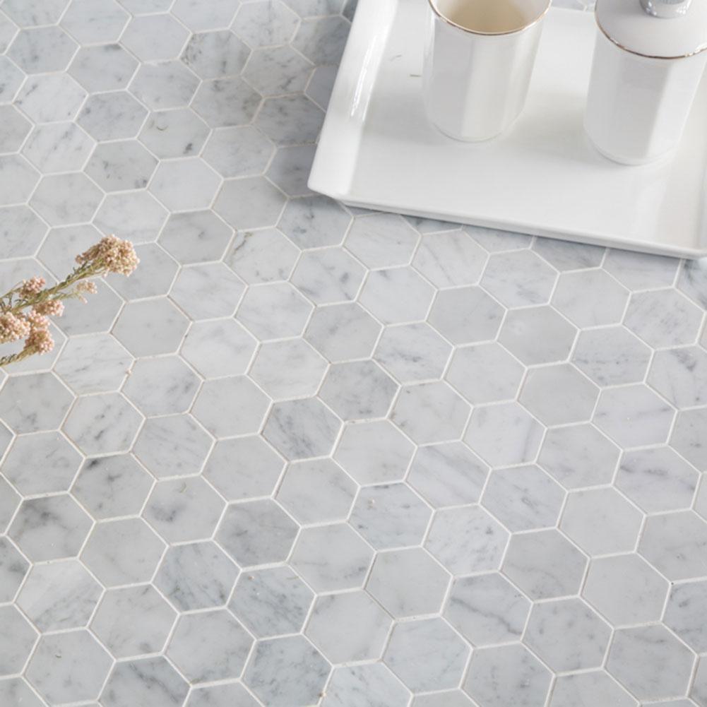 hexagon marble tile hexagon mosaic tile