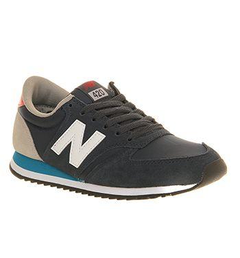 New Balance U420 Navy Red Blue - His trainers | New balance ...