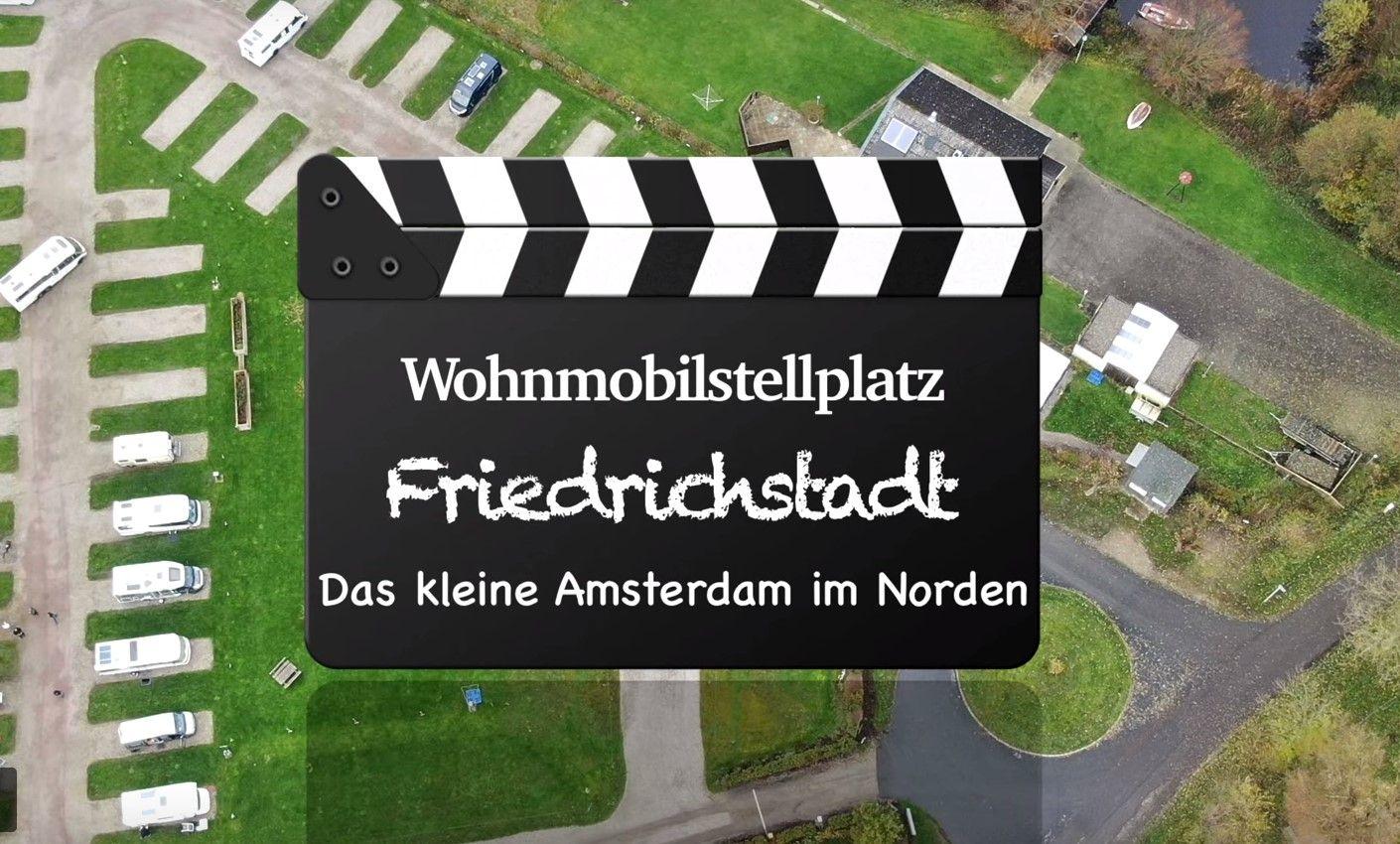 Wohnmobilstellplatz Friedrichstadt Klein Amsterdam In Norddeutschland Friedrichstadt Wohnmobil Camping
