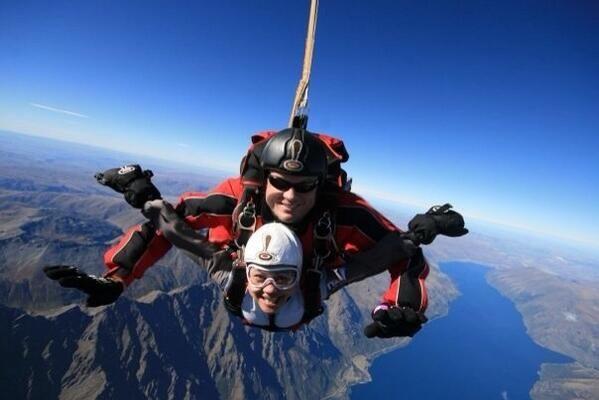 Indri Rooslamiati On Twitter Queenstown Nz Indri Skydiving