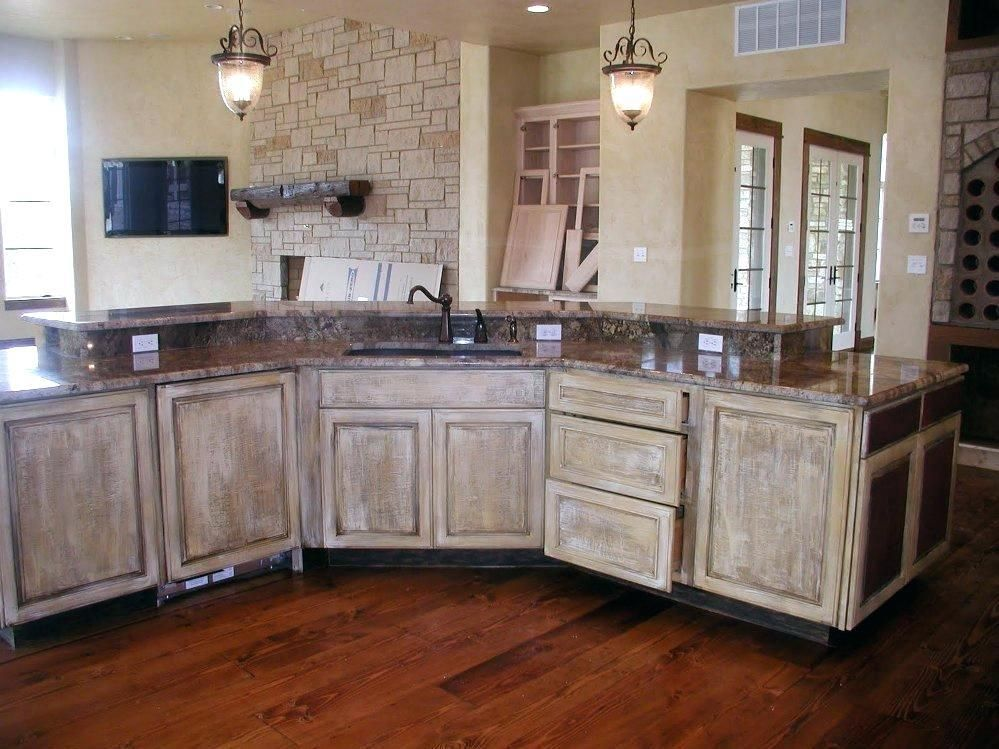 Whitewashing Wood Furniture Cottage With