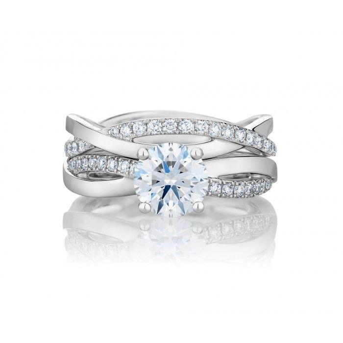 Infinity Engagement Ring J1fu10bp De Beers