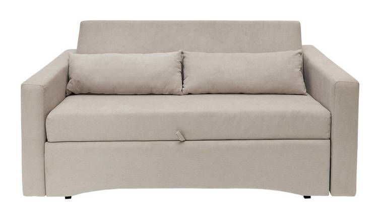 Buy Argos Home Reagan 2 Seater Fabric Sofa Bed Natural Sofa