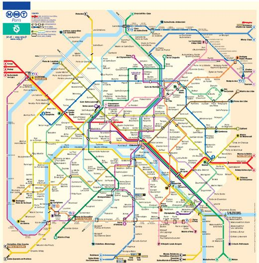 Metro And Underground Maps Designs Around The World Paris Metro