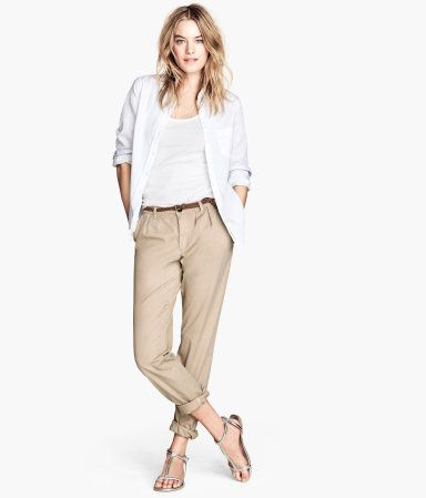 Hosen | Damen Slacks, Chinos und Stoffhosen | H&M DE