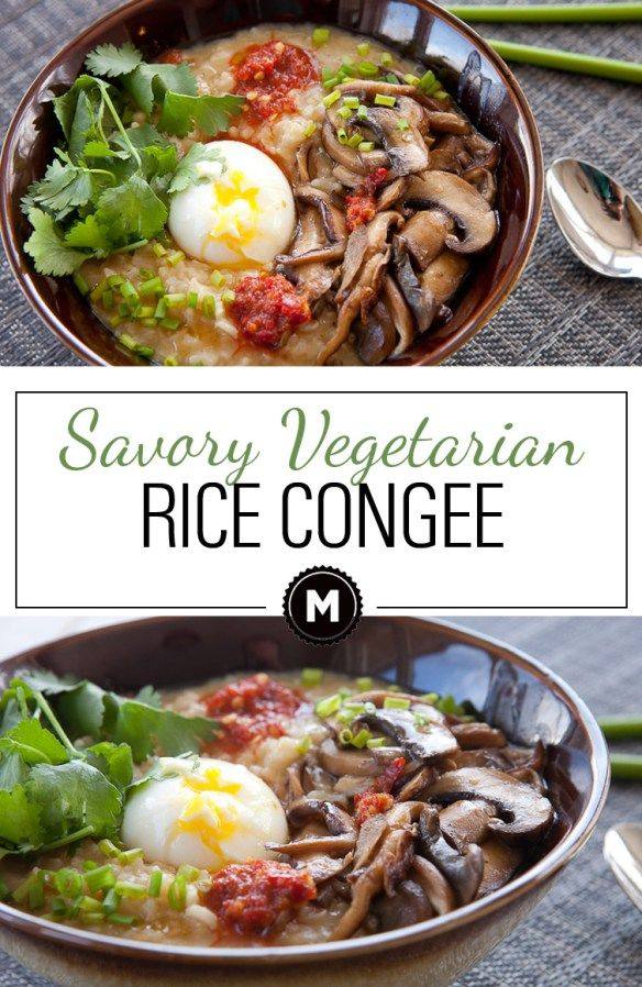 Vegetarian rice congee recipe recipe book pinterest leftover vegetarian rice congee recipe recipe book pinterest leftover rice savory breakfast and soft boiled eggs forumfinder Images