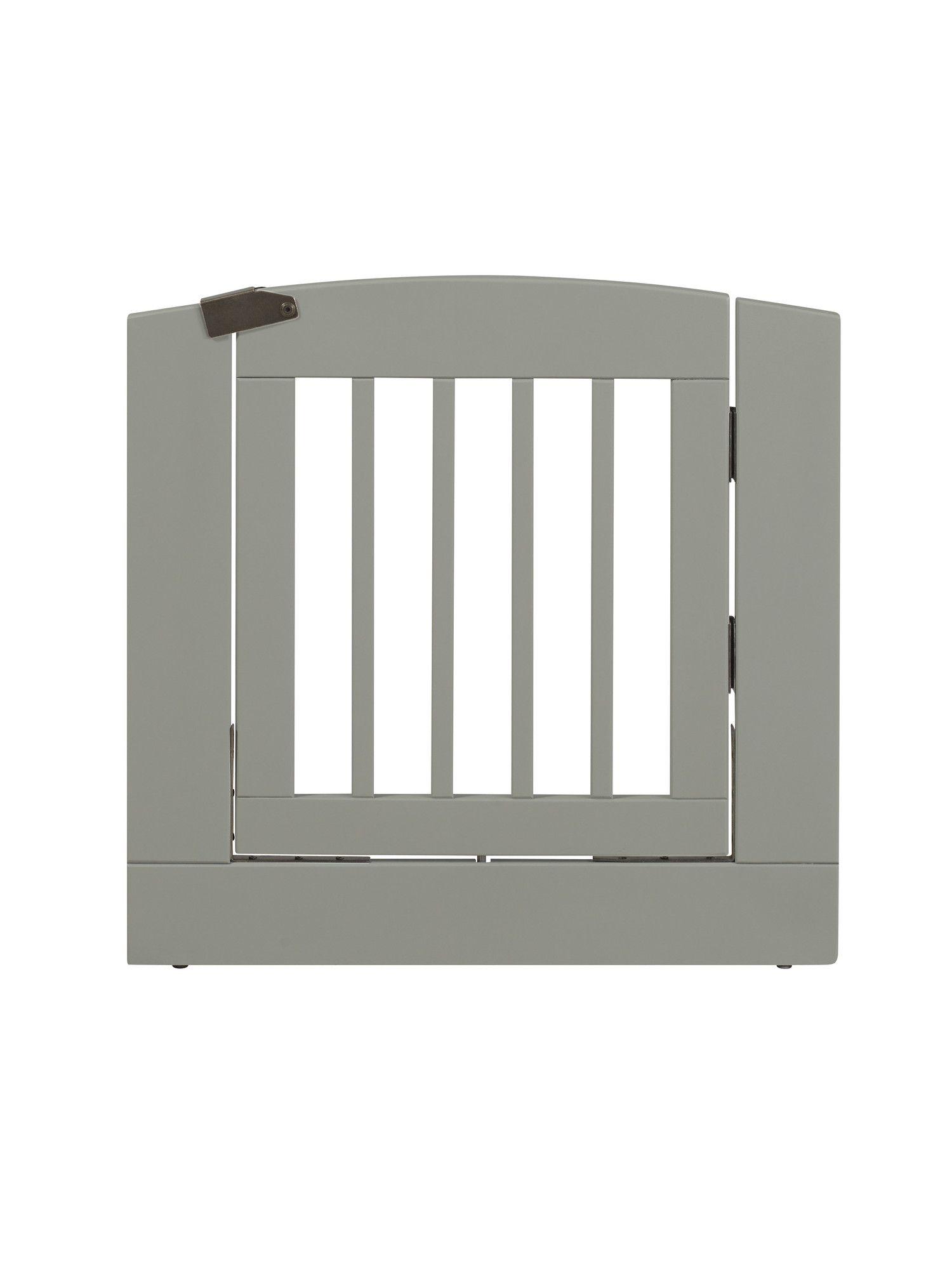Ruffluv Individual Panel Dog Gate with Door