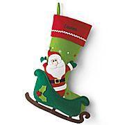 cajun kathy's - Christmas Stocking Santa Felt , $19.99 (http://www.cajunkathyscollection.com/christmas-stocking-santa-felt/)