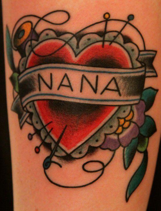 3afe081f8fdac nana tattoo | Nana & Papa | Nana tattoo, Grandparents tattoo, Sewing ...