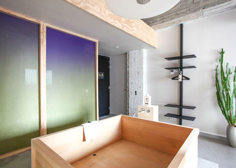 Hanna Maring's Bathing Bikou Room at Volkshotel Amsterdam.
