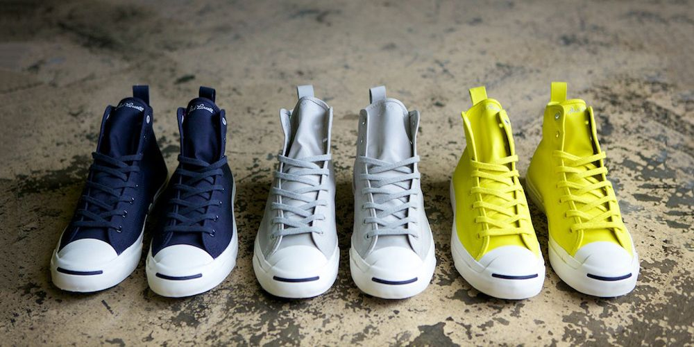 the Hancock VA Waterproof Converse Jack Purcell Collection