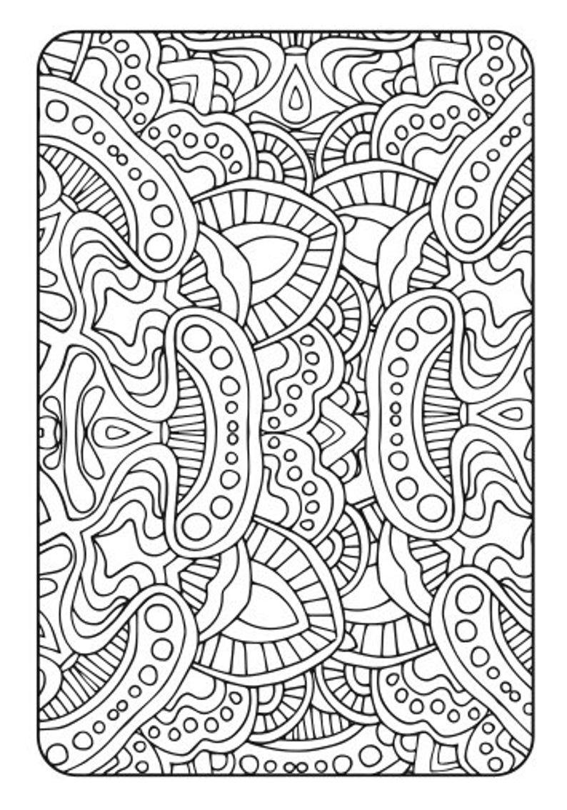 Adult Coloring Book Art Therapy Volume 2 Printable Pdf Coloring Book Digital Download Print At Home 20 Adult Coloring Page Patterns In 2020 Coloring Book Art Art Therapy Coloring Book Adult Coloring Books