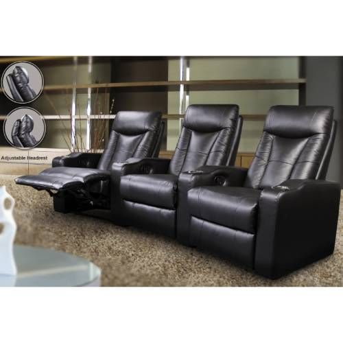 Coaster Furniture 3 Pavillion Contemporary Leather Theater