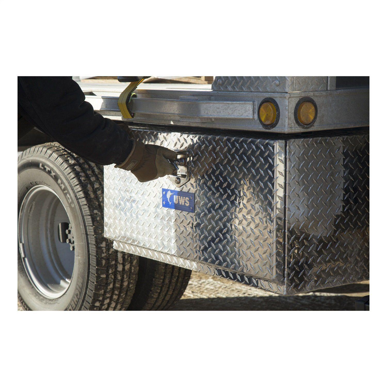 72 Aluminum TopMount TopRail Pickup Truck Tool Box