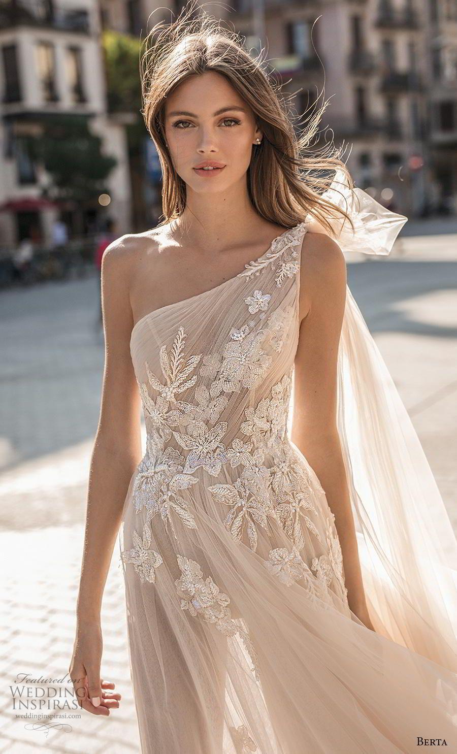 Watch - One wedding shoulder dress hair video