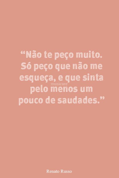 saudade!!!