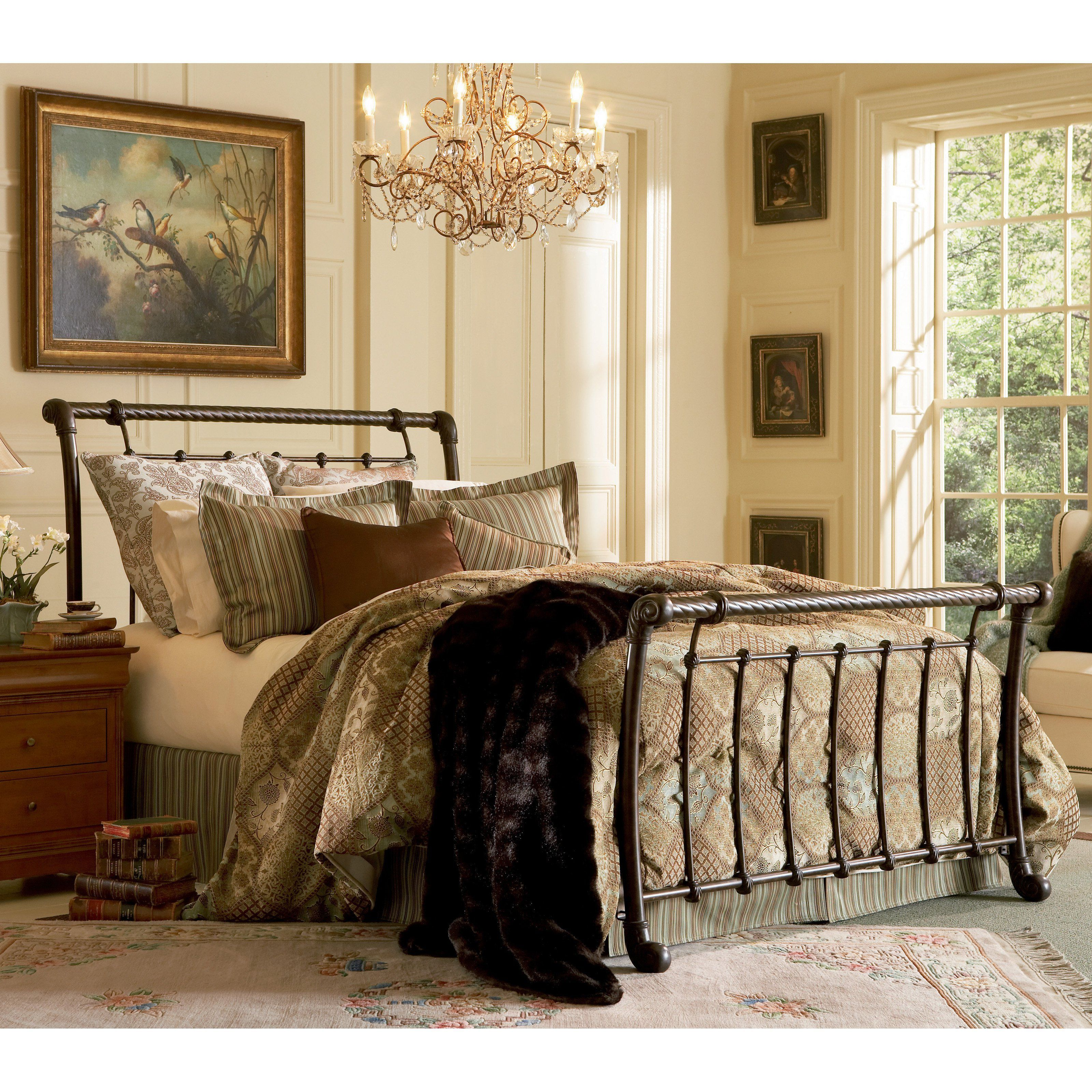 - Fashion Bed Group Legion Metal Sleigh Bed - B11295 Bed Styling