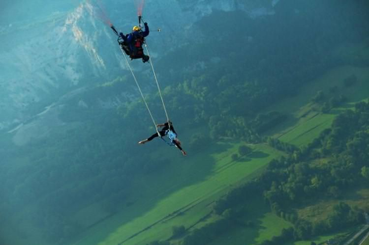 Yamaç Paraşütünde Trapez