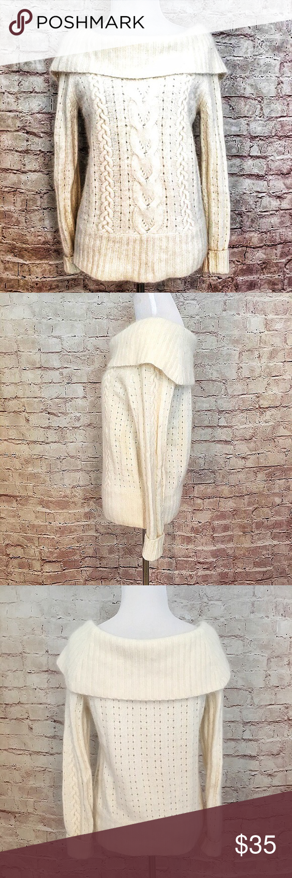 Banana Republic Blend Cowl Neck Sweater | Cowl neck, Banana ...