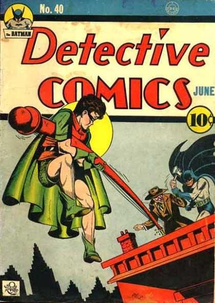 Detective Comics 40 Batman golden age DC comics