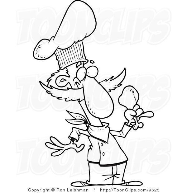 Chicken Leg Black And White Png & Free Chicken Leg Black And White.png  Transparent Images #115845 - PNGio