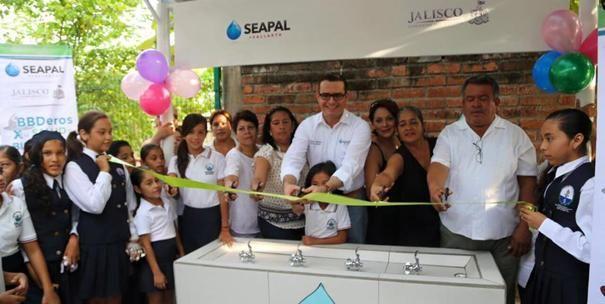 La Primaria Francisco González Bocanegra ya tiene Bebederos