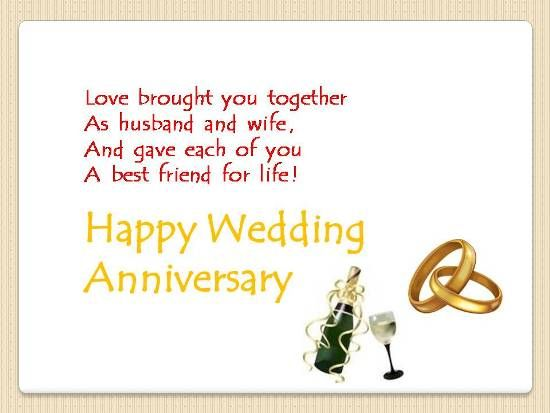 Anniversary Greetings For Friends