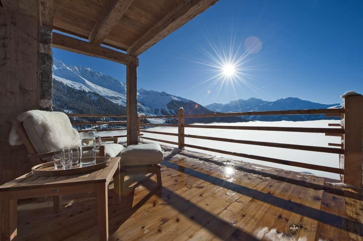 terrasse-chalet | Atmosphères | Pinterest