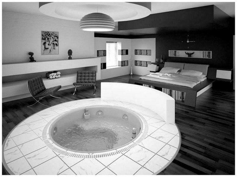 Déco noir et blanc chambre  coucher 25 exemples élégants