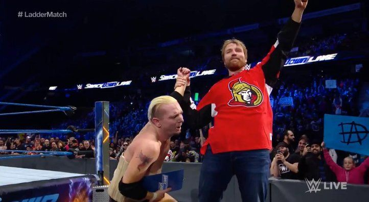 James Ellsworth Earns A Contract And WWE World Title Shot On SmackDown Live