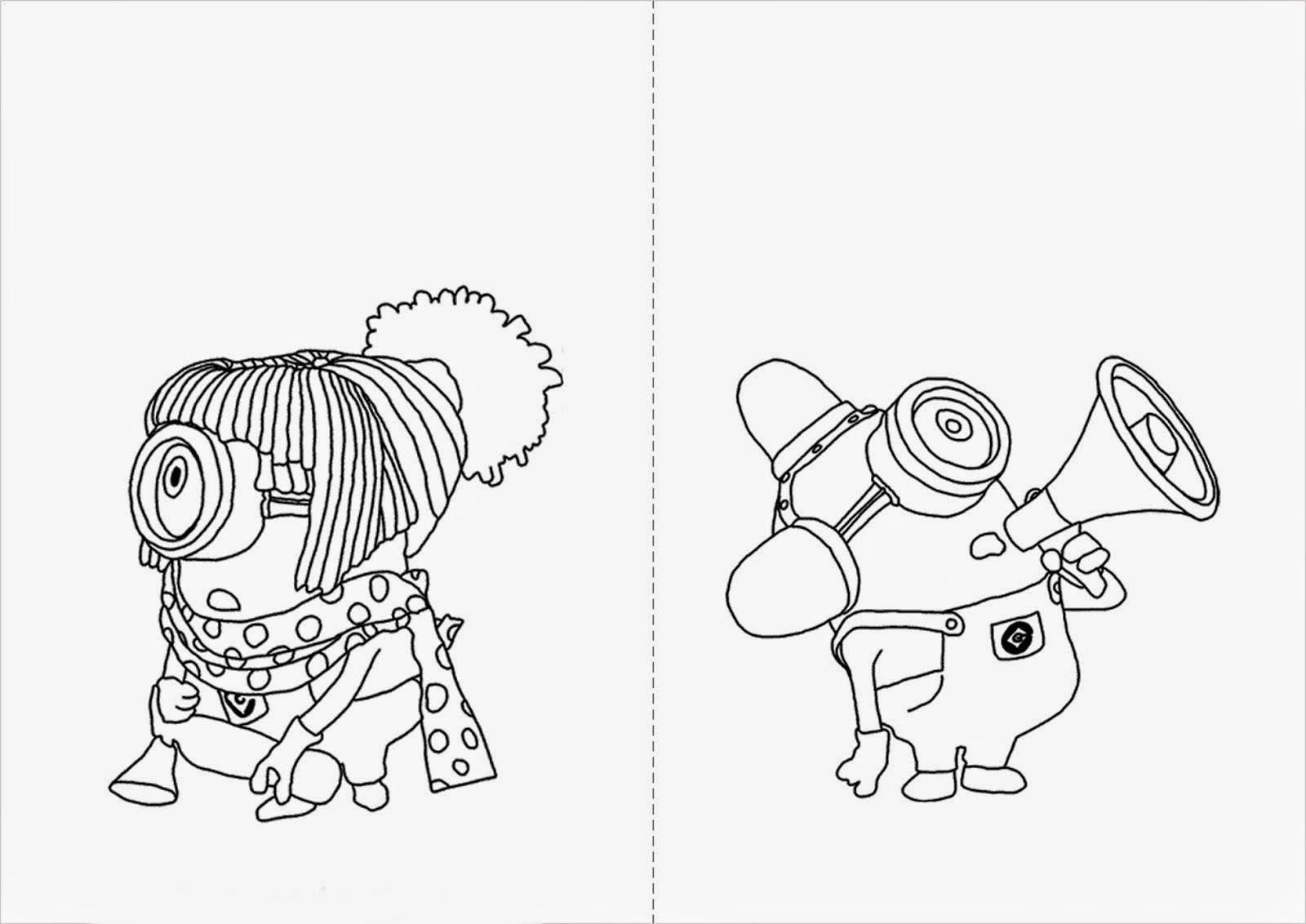 Desenhos Para Colorir Meu Malvado Favorito Desenho Dos Minions