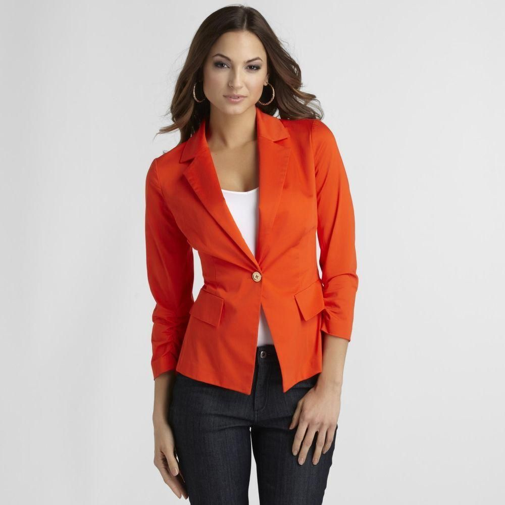 Women's Fitted Blazer #kmart