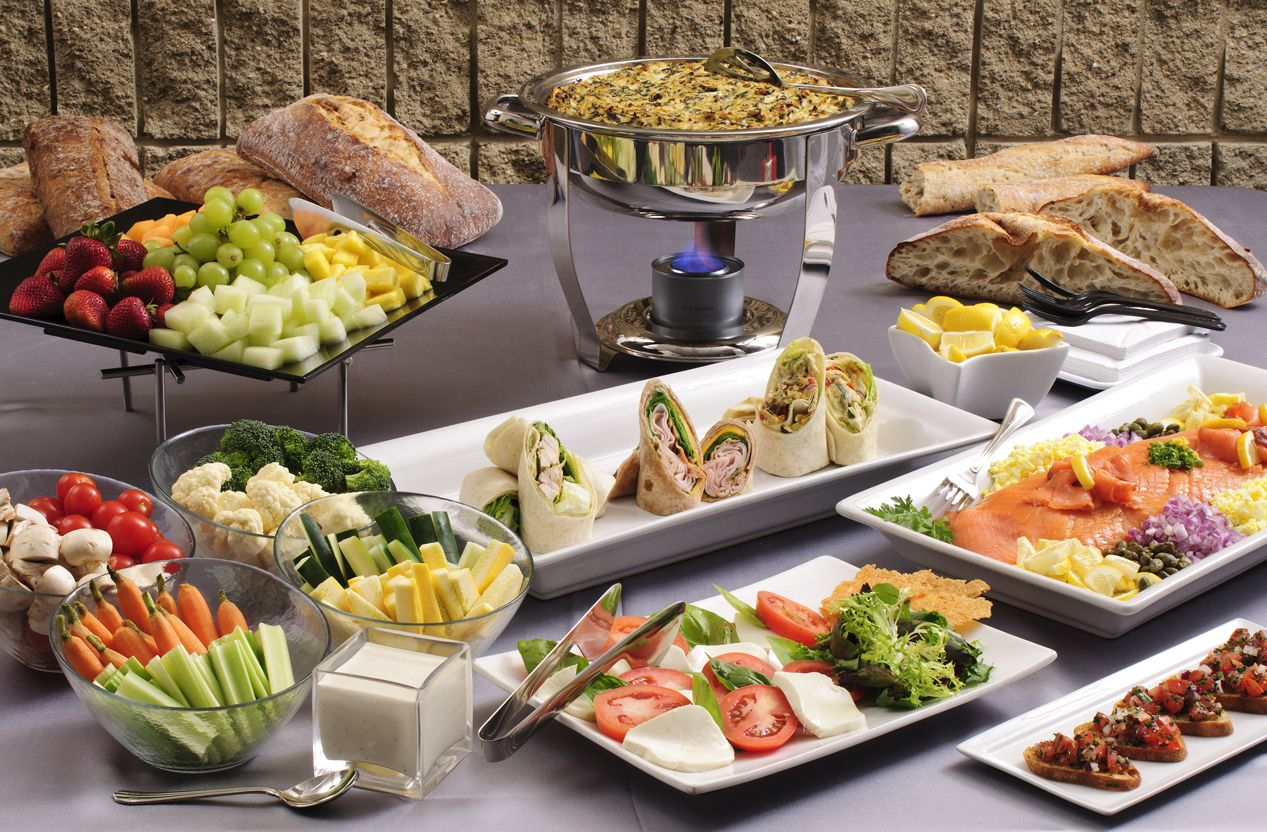 Buffet Vaisselle Gorgeous Buffet Presentation. | Bentley Conference Center