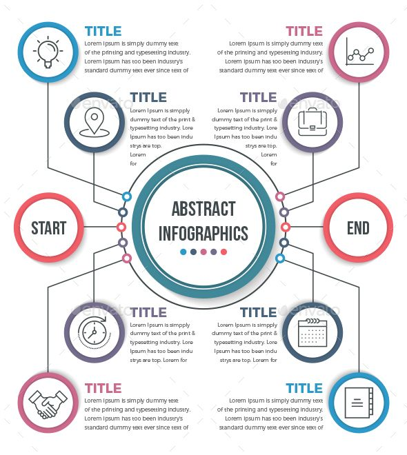 This Is Abstract Business Infographics(10 Steps). You Can Used It All Of Your Business Purposes