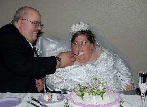 Ugly People Wedding